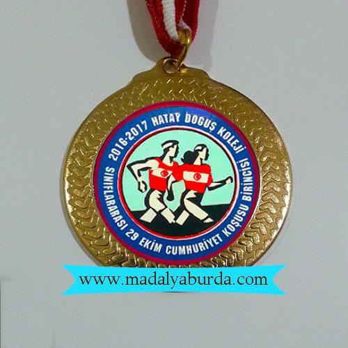 koşu-madalyası örneği