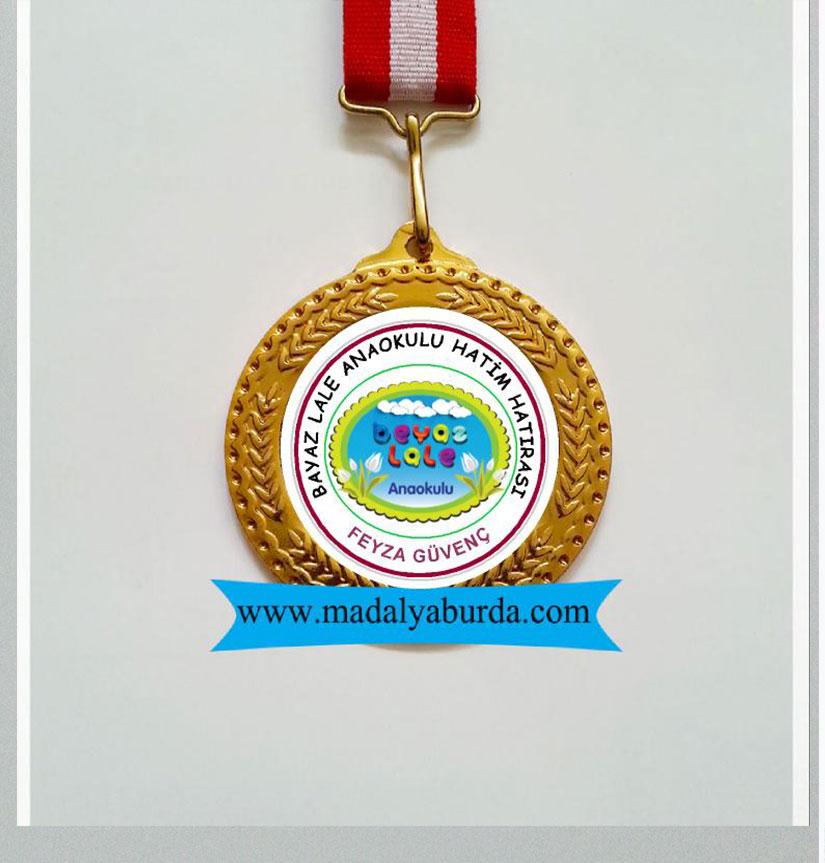 Ana okulu başarı madalyası
