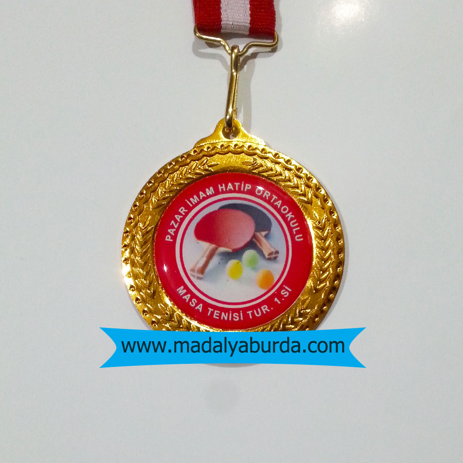 Masa Tenisi Turnuva Madalyası