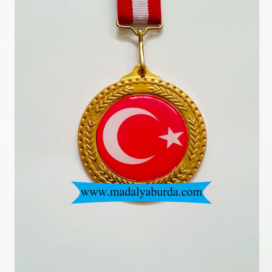 Milli Bayraklı Madalya